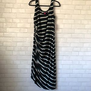 Vince Camuto Cinched Side Striped Tank Dress 1X